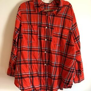 Old Navy Flannel, Size 3X